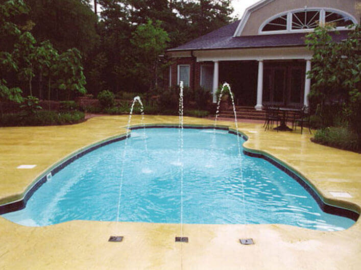 Water Features Water Effects For Swimming Pools Spas