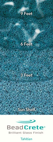 Beadcrete® Pool Surface Technology Is The Latest Development In Concrete Pool  Finishes. Beadcrete® Contains Solid, Inert, Glass Spheres That Are Locked  Into ...