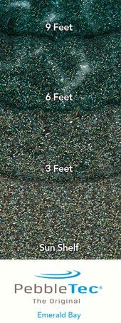 Pebble Tec With Emerald Bay Finish