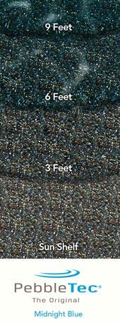 Pebble Tec With Midnight Blue Finish