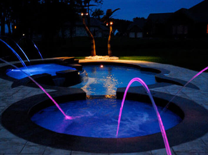 Water Features Water Effects For Swimming Pools Amp Spas
