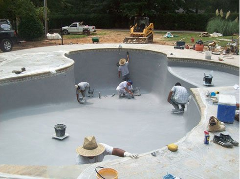 Pool Refinishing